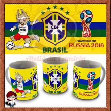 Caneca Copa do Mundo 2018 02