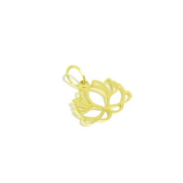 Pingente Flor de Lótus | Ouro 18k