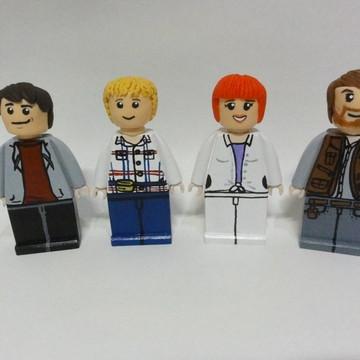 Kit 4 Bonecos Lego Jurassic World