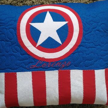 Capa para almofadas infantil patchwork