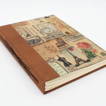 Caderno Artesanal Paris - Modelo A