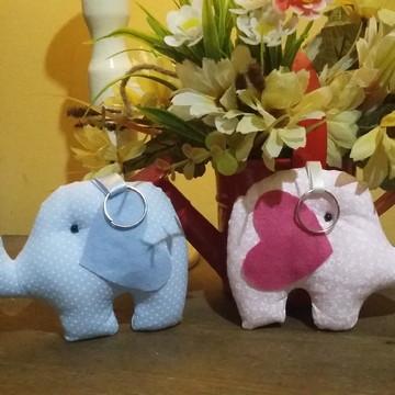 Elefante chaveiro