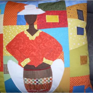 Capa de almofadas Patchwork
