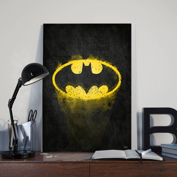 Quadros Classic Batman Tamanho 30X40