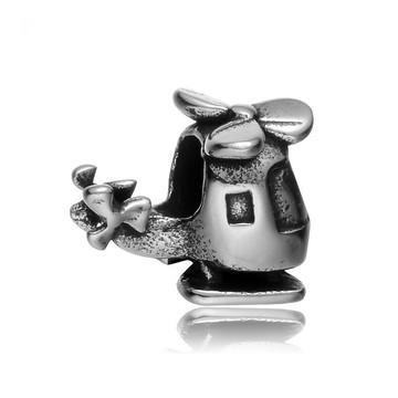 Berloque de Aço Inox 360L- HELICPTERO