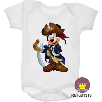 Body Mickey Pirata 02