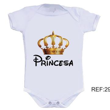 Body Infantil Princesa