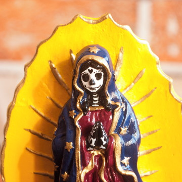 Guadalupe Santa Muerte