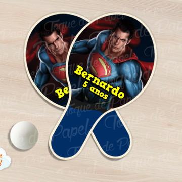 Raquete de ping pong Super Man