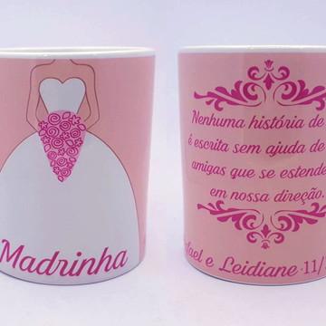 Caneca para Madrinhas de Casamento