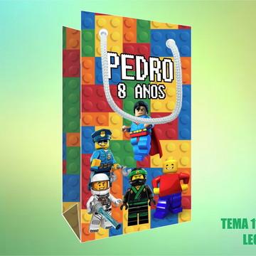 Sacola Personalizada em Papel Foto - Lego