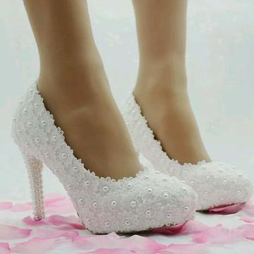 c4954e640 Sapato de Noiva guipir personalizado 2