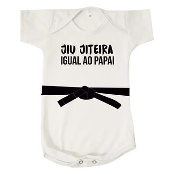 Body Infantil Kimono Jiu Jiteira Igual Ao Papai