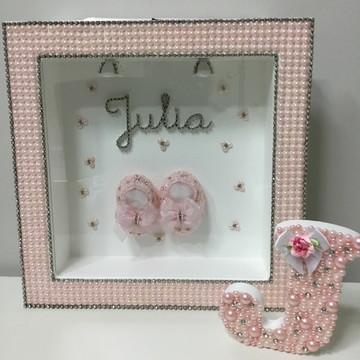 Porta maternidade rosa