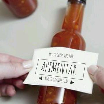 Adesivo Pimenta
