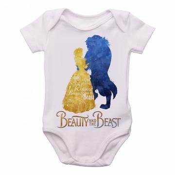 Bodie body Criança Infantil Roupa Bebê bela ea fera disney