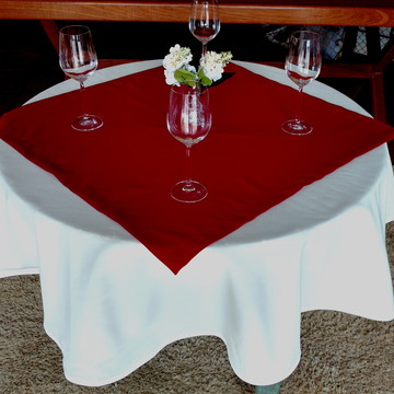 Toalha de Mesa Redonda Restaurante