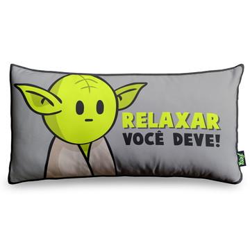 Almofada Mestre Mini Yoda pequena