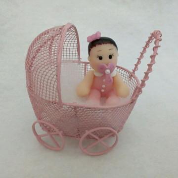 Bebê no carrinho