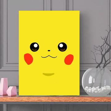 Quadro Pokemon - Tamanho 30x40cm