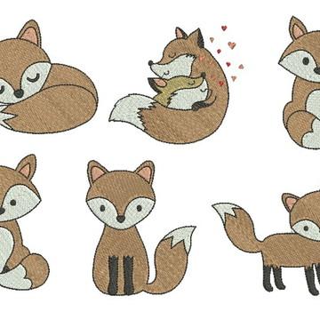 Coleção de raposas 003