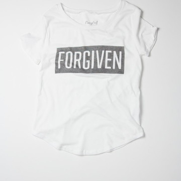 52e6c7d67 Camiseta feminina evangélica camisa cristã gospel Perdoada