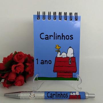 Bloquinho e Caneta