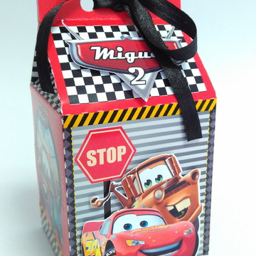 Caixa Milk Carros Disney