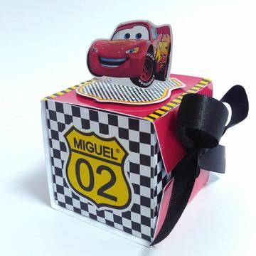 Caixa Laço Carros Disney