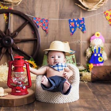 Bandana de algodão infantil (até 2 anos)
