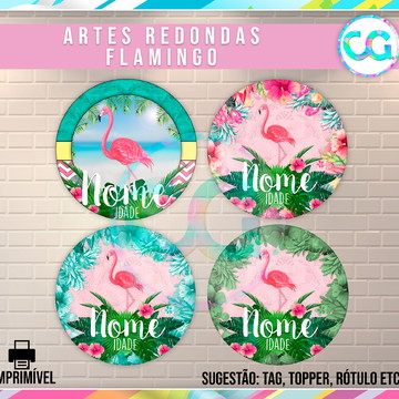 Flamingo - Artes Redondas Digitais
