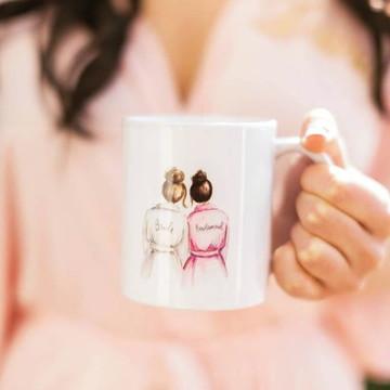 Caneca para Madrinhas de Casamento Personalizadas