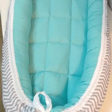 Com Travesseiro Brinde - Ninho de bebê para Berço Med.