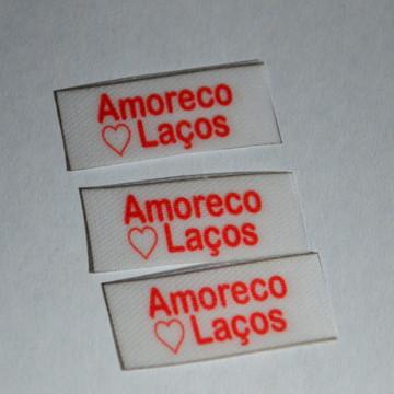 180 Etiquetas 3x1 - Tecido Cetim Para Tiara - Artesanato