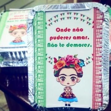 Marmitinha Frida kahlo