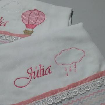 Kit toalha + fralda