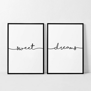 POSTER SWEET DREAMS PARA IMPRIMIR