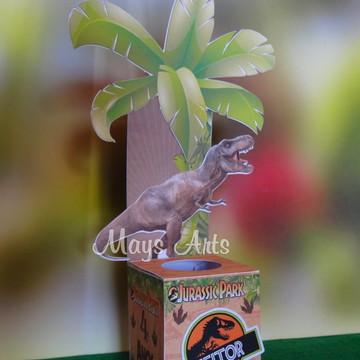 Porta Tubete Jurassic Park