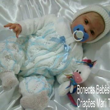 Bebê Reborn Sharlamae menino