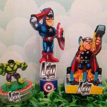 Kit personalizados Vingadores