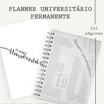 Planner Universitário Permanente