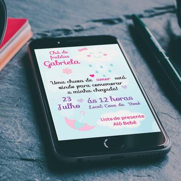 Convite Digital Whatsapp