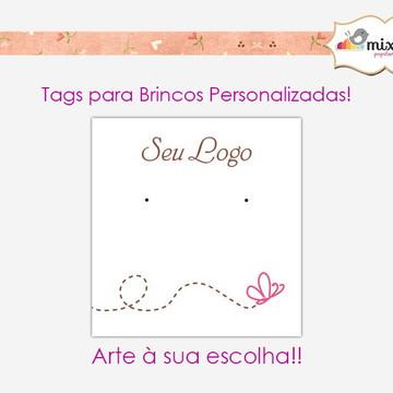 50 Cartelas Brincos Bijuteria - PERSONALIZADAS!!!