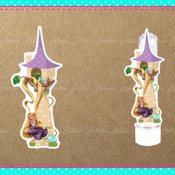 Aplique tubete Rapunzel Enrolados