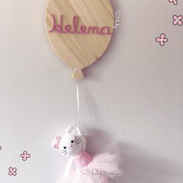 Enfeite de Maternidade balão