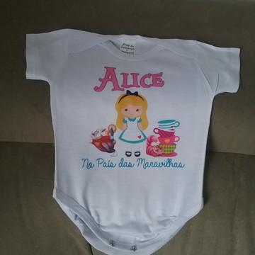 Body personalizado para Bebê- Alice
