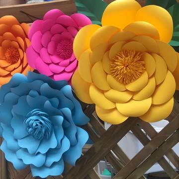 Flores e Rosas de papel (Foto Ilustrativa)