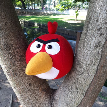 Angry Bird Vermelho
