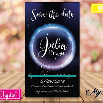 Convite Digital -Galaxia