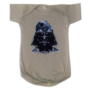 Body Bebê Infantil Star Wars Darth Vader